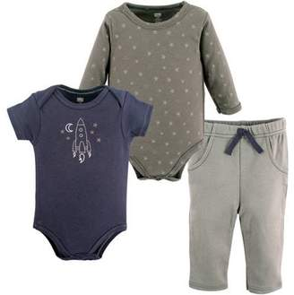 Hudson Baby Boy Bodysuit 2-Pack and Pant