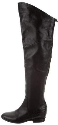 Belle by Sigerson Morrison Leather Over-The-Knee Boots