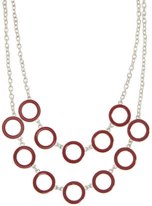 Gloria Vanderbilt Womens Brass Collar Necklace