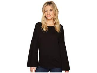 Heather Stella Bell Sleeve Pullover Women's Clothing