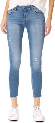 DL1961 Margaux Instasculpt Ankle Skinny Jeans $198 thestylecure.com