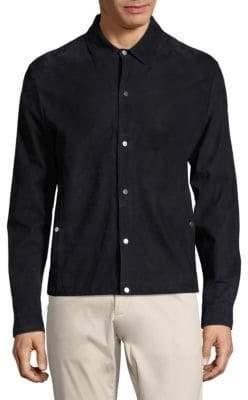 Vilebrequin Suede Jacket Shirt