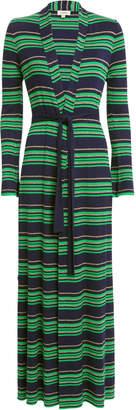 L'Agence Marija Striped Knit Duster