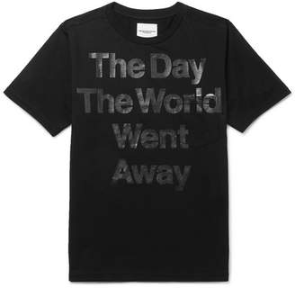 TAKAHIROMIYASHITA TheSoloist. Printed Cotton-Jersey T-Shirt