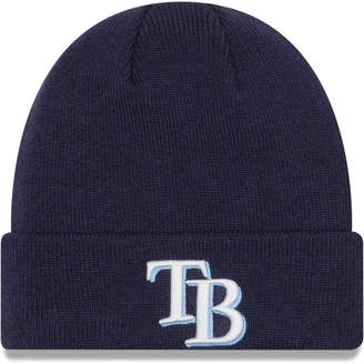 New Era Tampa Bay Rays Basic Cuffed Knit Hat