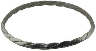 Tiffany & Co. 925 Sterling Silver Twisted Bangle Bracelet