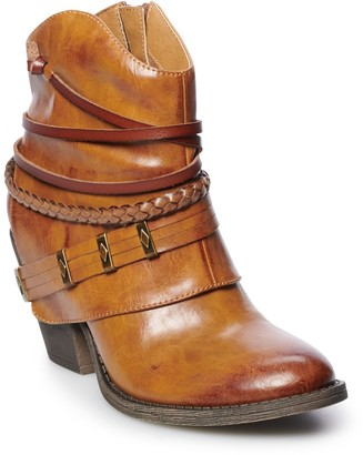 So SO Asparagus Women's Western Ankle Boots
