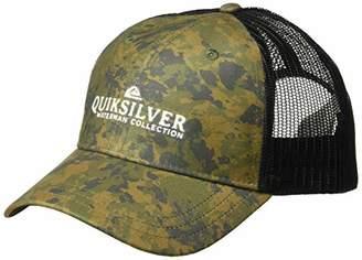 Quiksilver Waterman Men's Cranden Cap Trucker Snap Back