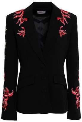 Cinq à Sept Orchid Pax Embroidered Crepe Jacket