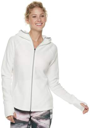 Tek Gear Women's Microfleece Thumb Hole Jacket