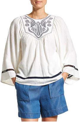 Jag Georgia Embroidered Blouse