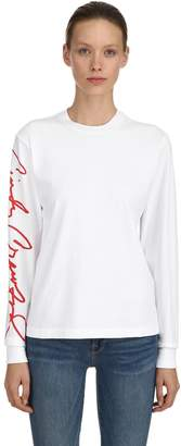 RE/DONE Re Done Cindy Crawford Cotton Jersey T-Shirt