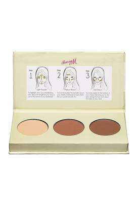 Barry M Cosmetics Chisel Cheeks Contour Kit