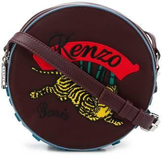 Kenzo embroidered drum bag