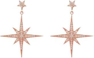 Rosegold Latelita London - Star burst Drop Earring