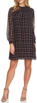 CeCe Sloan Plaid Shift Dress