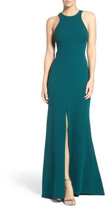 Vera Wang Stretch Woven Mermaid Gown $268 thestylecure.com