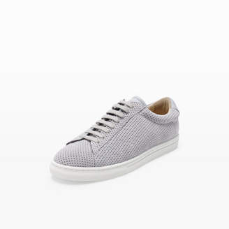 Zespà Perforated Suede Sneaker