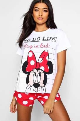 boohoo Mouse Spotty Short Set