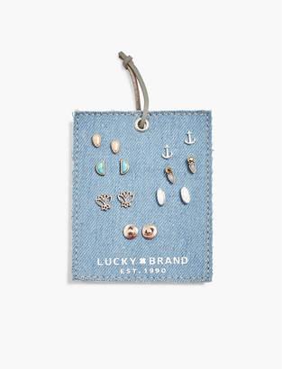 Lucky Brand Anchor Stud Set