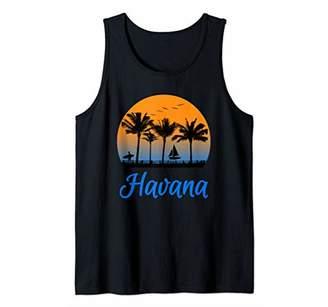 Havana Shirt Cuba Holiday Souvenir Gift Surfing Tank Top