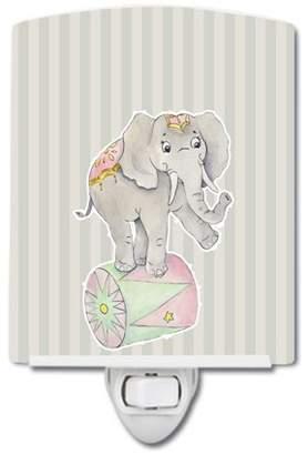 Caroline's Treasures Circus Elephant Ceramic Night Light