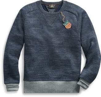 Ralph Lauren Cotton-Wool Crewneck Sweater