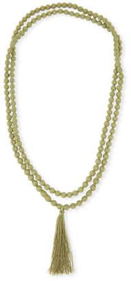 Masai Ariel Long Fabric Tassel Necklace