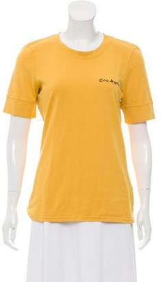Frame Los Angeles Crew Neck T-Shirt