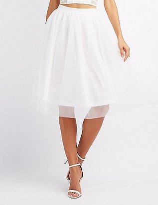 Tulle Full Midi Skirt $28.99 thestylecure.com