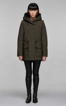 Mackage ALAIA 2-in-1 relaxed fit parka with removable down liner