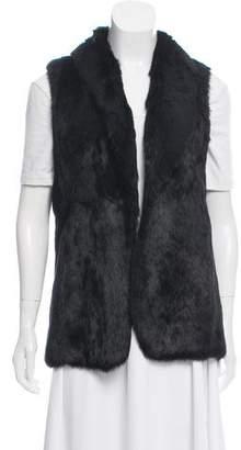 Elizabeth and James Fur Knit Vest