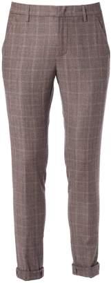 Dondup Gaubert Check Trousers