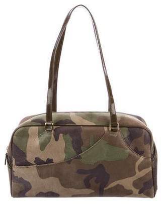 Christian Dior Camouflage Bowling Bag