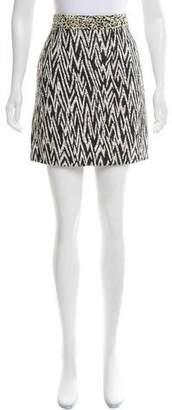 Proenza Schouler Textured Abstract Skirt
