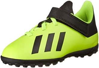 adidas (アディダス) - [アディダス] サッカーシューズ エックス タンゴ 18.4 TF J ベルクロ 17.0-24.5cm ボーイズ ソーラーイエロー/コアブラック/ソーラーイエロー 17.5 cm