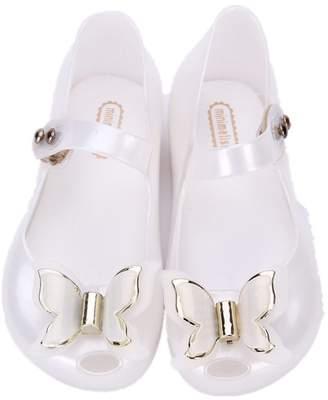 Mini Melissa Cloudless Girls Mary Jane Flats Bowknot Kid's Sandals Mini-Melissa Shoes