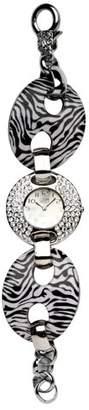 Eton Ladies Zebra Pattern Link Watch 2898-9