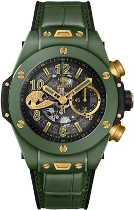 Hublot Ceramic Big Bang Unico WBC Watch 45mm