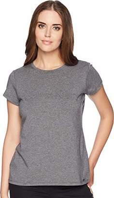 Calvin Klein Women's Short Sleeve TEE with Middle Logo
