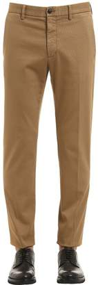 Ermenegildo Zegna 18cm Slim Stretch Cotton Twill Pants