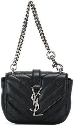 Saint Laurent mini 'College' bag $595 thestylecure.com
