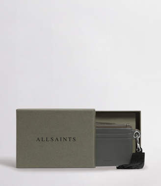 AllSaints Dive Leather Keyfob