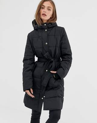 J.Crew Mercantile long padded coat
