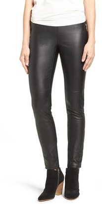 Women's Michael Michael Kors Faux Leather Leggings $98 thestylecure.com