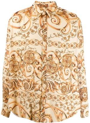 Martine Rose baroque print shirt