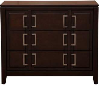 Generic Cherry Drawer Chest with Buckle Hardware