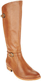 As Is BareTraps Tall Shaft Boots with Buckles - Tommy $34 thestylecure.com
