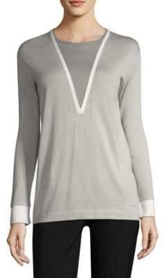 Akris Cashmere& Silk Pullover