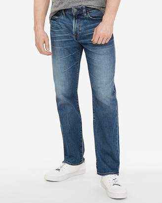 Express Classic Boot Medium Wash Stretch Soft Cotton Jeans